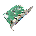 Carte contrôleur PCI-E 4 ports USB 3.0