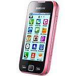 Samsung Wave 533 AZERTY Rose