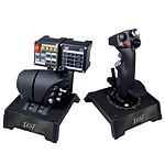 Saitek Pro Flight X65F Combat Control System + Combat Rudder Pedals