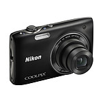 Nikon Coolpix S3100 Noir