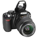 Nikon D3100 + Objectifs AF-S DX 18-55 mm II et AF-S DX 55-200 mm
