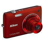 Nikon Coolpix S4100 Rouge