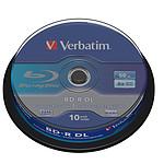 Verbatim BD-R DL 50 GB certificado 6x (pack de 10, spindle)