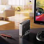 Iomega eGo Desktop Hard Drive 3 To Gris Anthracite (USB 3.0)