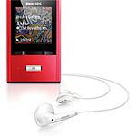 Philips SA2VBE04 Rouge