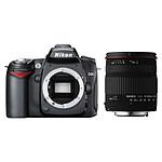Nikon D90 + SIGMA 18-200mm F3,5-6,3 DC