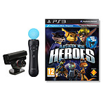PlayStation Move Heroes (PS3) + PlayStation Eye + Move Motion Controller