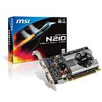 MSI N210-D512D2 GeForce G210