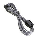 BitFenix Alchemy Silver - Extension d'alimentation gainée - EPS12V 8 pins - 45 cm