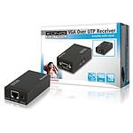 Récepteur VGA + Audio sur câble Ethernet jusqu'à 300 m