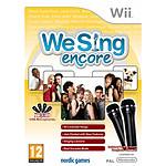We Sing encore + 2 microphones (Wii)