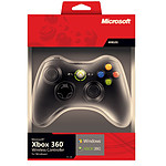 Microsoft Controller Wireless Noir (PC/Xbox 360)