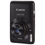 Canon IXUS 130 IS Noir + Etui cuir