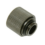 "Conector 1/4"" 13/10 mm compacto (color negro)"