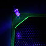 """Bitspower bouchon 1/4"""" (LED UV, connecteur 3-pins)"""