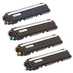 Pelikan pack compatible TN-230 (Noir + Cyan + Magenta + Jaune) + PeliCARE