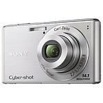 Sony CyberShot DSC-W530 Argent + Carte SD 2 Go