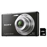 Sony CyberShot DSC-W530 Noir + Carte SD 2 Go