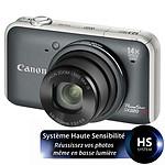 Canon Powershot SX220 HS Gris + Carte SD 4 Go