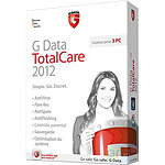 G Data TotalCare 2012 - Licence 1 an 3 postes