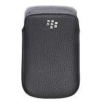 BlackBerry Leather Pocket Noir (pour BlackBerry 9900/9930)