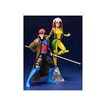 Marvel Universe - Pack 2 statuettes 1/10 PVC ARTFX+ Gambit & Rogue (X-Men '92) 19 cm