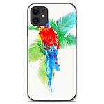 1001 Coques Coque silicone gel Apple iPhone 11 motif RF Tropical party