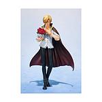 One Piece - Statuette FiguartsZERO Sanji Whole Cake Island Ver. Tamashii Web Exclusive 17 cm