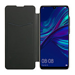 Isium Etui Portefeuille Slim Dos Transparent Huawei P Smart 2019 Noir