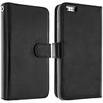 Avizar Etui folio Noir pour Apple iPhone 6 Plus , Apple iPhone 6S Plus