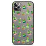 1001 Coques Coque silicone gel Apple iPhone 11 Pro Max motif Cactus