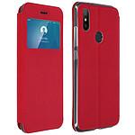 Avizar Etui folio Rouge pour Xiaomi Mi A2
