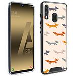 Avizar Coque Multicolore pour Samsung Galaxy A20e