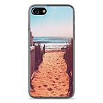 1001 Coques Coque silicone gel Apple IPhone 8 motif Chemin de plage