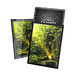 Ultimate Guard - 100 pochettes Printed Sleeves taille standard Lands Edition II Forêt