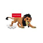 Disney - Figurine Fluffy Puffy Lion King Scar 7 cm