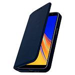 Avizar Etui folio Bleu pour Samsung Galaxy J6 Plus