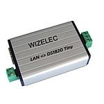 Wizelec Lecteur De Températures Ethernet Jusqu'à 4 Sondes 1wire SS_LAN_DS18B20_MONITOR