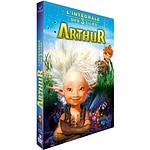 Coffret Arthur 3 Films : Arthur Et Les Minimoys  La Vengeance De Maltazard  La Guerre Des Deux Mondes [DVD]
