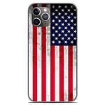 1001 Coques Coque silicone gel Apple iPhone 11 Pro motif Drapeau USA