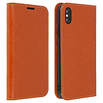 Avizar Etui folio Camel pour Apple iPhone XS Max