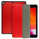 Avizar Etui folio Rouge pour Apple iPad 2019 10.2 , Apple iPad 2020 10.2 , Apple iPad 2021 10.2