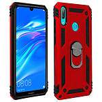 Avizar Coque Rouge pour Huawei Y7 2019