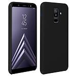 Avizar Coque Noir Semi-Rigide pour Samsung Galaxy A6 Plus
