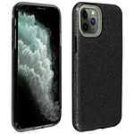 Avizar Coque Noir Design pailleté pour Apple iPhone 11 Pro