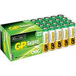 GP Super Lot De 40 Piles Aa Alcalines Lr06 GP_LOT40LR06