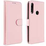 Avizar Etui folio Rose Champagne pour Huawei P Smart Z , Honor 9X