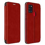 Avizar Etui folio Rouge pour Samsung Galaxy A21s