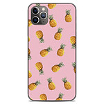 1001 Coques Coque silicone gel Apple iPhone 11 Pro Max motif Pluie d'ananas