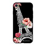 LA COQUE FRANCAISE Coque iPhone Xr Silicone Liquide Douce noir Un Printemps à Paris